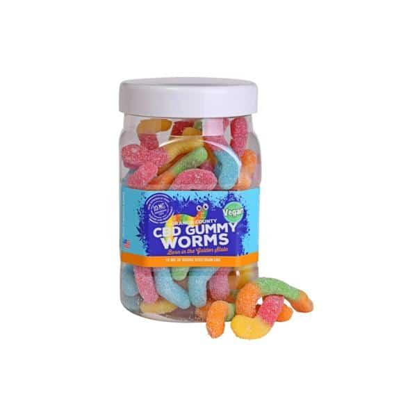 Orange County CBD Gummy Worms