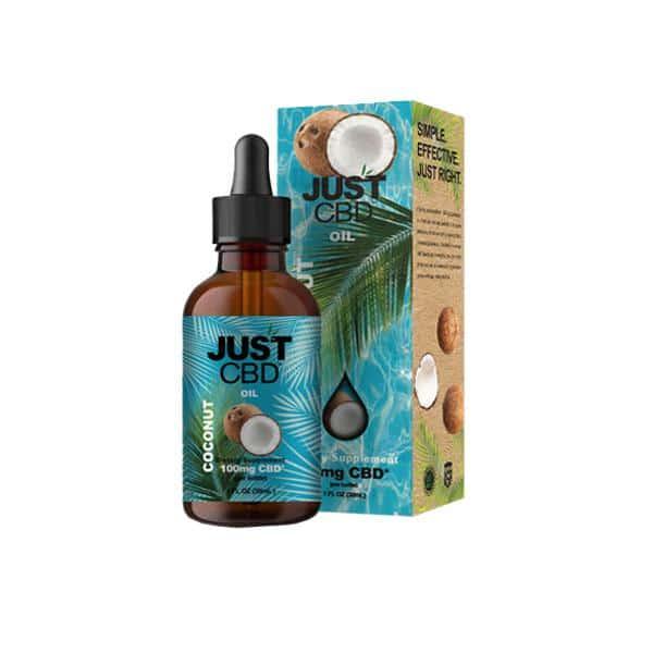 Justcbd coconut oil 100mg