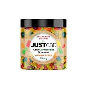 JustCBD Sugar Free 750mg Cannabidiol Gummies