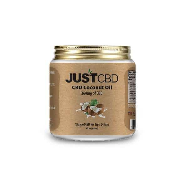 Justcbd coconut cream